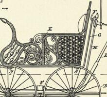 Child's Carriage-1896 Sticker
