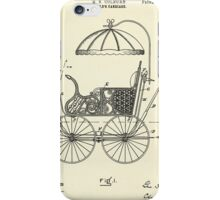 Child's Carriage-1896 iPhone Case/Skin