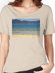 Dunk Island seen from South Mission Beach Women's Relaxed Fit T-Shirt