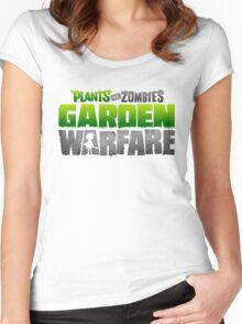 Plants vs Zombies Garden Warfare Women's Fitted Scoop T-Shirt