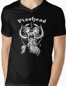 pisshead funny heavy metal Mens V-Neck T-Shirt