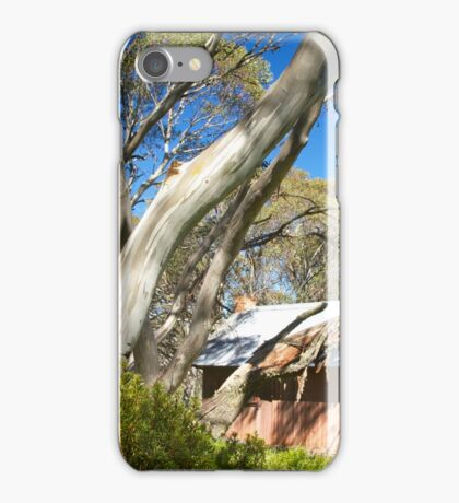 Snowy Mountains scene iPhone Case/Skin