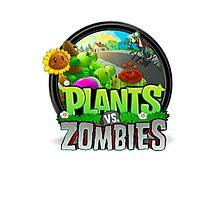 Plants VS Zombies Photographic Print