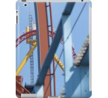 Blue Streak, Valravn, and Top Thrill Dragster iPad Case/Skin