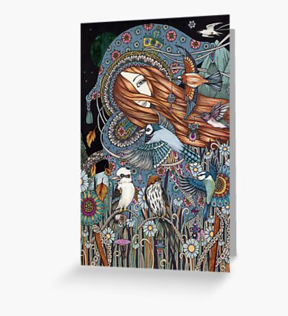 Synchronicity (The World) Greeting Card