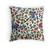 Wild Berry Throw Pillow