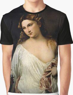 Tiziano Vecellio, Titian - Flora  Graphic T-Shirt