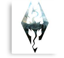 Skyrim Adventurer Canvas Print