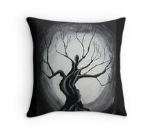 'Crying Belle' by Unkle Pete Throw Pillow
