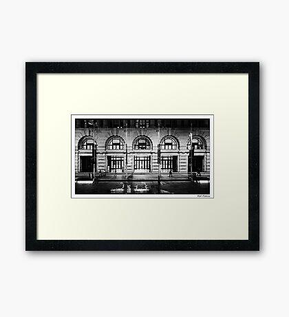 In Perth City Framed Print
