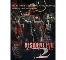 Resident Evil 2 Photographic Print