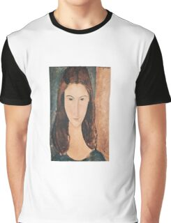 Amedeo Modigliani - Portrait Of A Young Girl Graphic T-Shirt