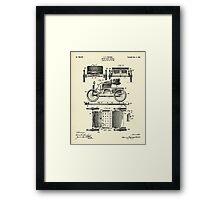 Motor Road Vehicle-1901 Framed Print