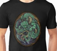 Jade Baby Dragon in Egg Unisex T-Shirt