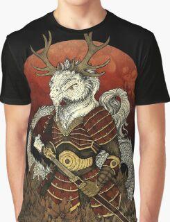 Dragon Samurai - Colour Graphic T-Shirt