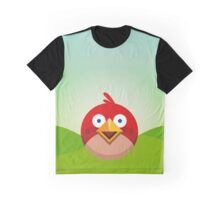 Red Bird Graphic T-Shirt