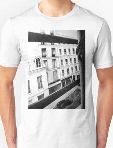 Paris Street View, 2011, 50-70cm, graphite crayon Unisex T-Shirt