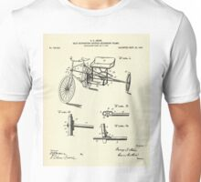 Seat Supporting Bicycle Extension Frame-1903 Unisex T-Shirt
