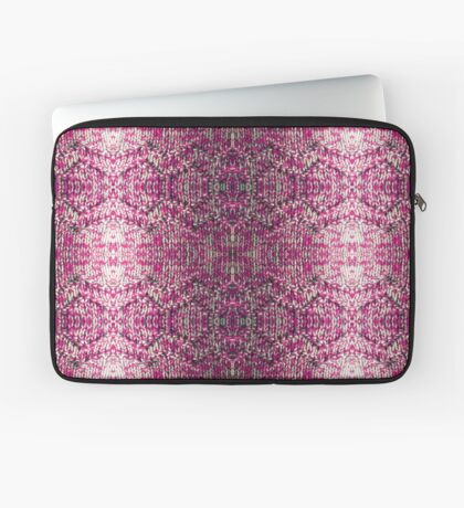 Pink Knitted Jumper Laptop Sleeve