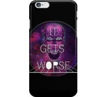 It Gets Worse - Mindless Self Indulgence iPhone Case/Skin