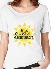 Hello Summer! Women's Relaxed Fit T-Shirt