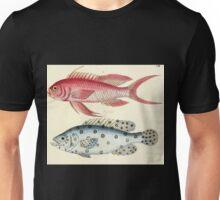 Naturgeschichte in Bildern mit erläuterndem Text E Strack 1820 Lief 4 Fish 102 Unisex T-Shirt