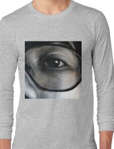 Lens, 100-100cm, 2010, oil on canvas Long Sleeve T-Shirt