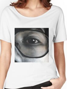 Lens, 100-100cm, 2010, oil on canvas Women's Relaxed Fit T-Shirt