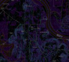 USGS TOPO Map Alabama AL Triana 20110921 TM Inverted Sticker