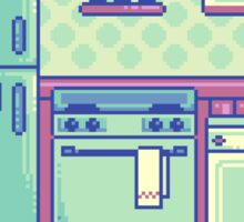 Kitchen (Pixel) Sticker