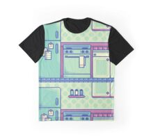 Kitchen (Pixel) Graphic T-Shirt