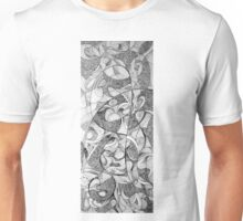 Infinite reality, 2015, 20-50cm, ink on paper Unisex T-Shirt