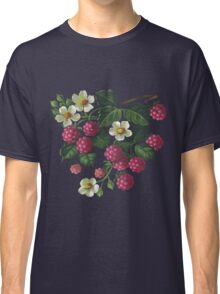 Raspberries - acrylic on canvas Classic T-Shirt