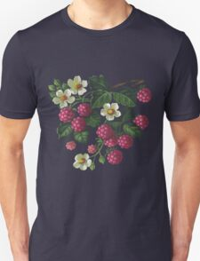 Raspberries - acrylic on canvas Unisex T-Shirt
