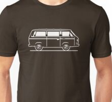 Drive by Bus 3 (white, only) Unisex T-Shirt
