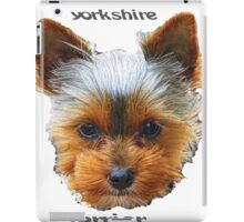 Printing dogs - Yorkshire Terrier iPad Case/Skin