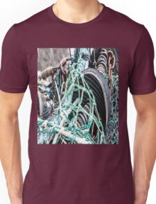 Nets, Rubber and Chain Unisex T-Shirt
