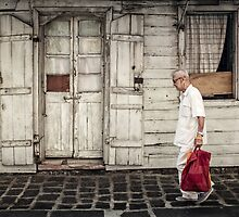 Man in Port Louis, Mauritius by Michiel de Lange