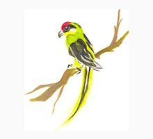Parrot on a branch Unisex T-Shirt