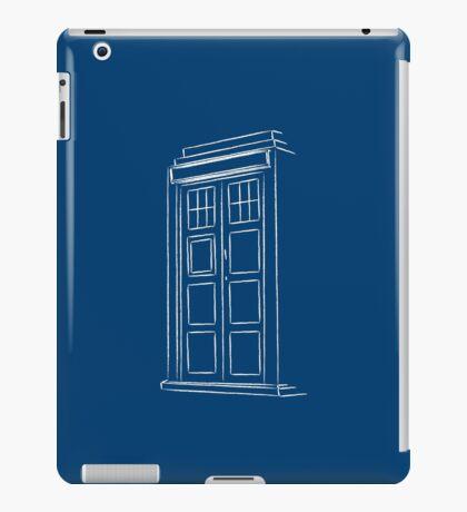 Jump on the TARDIS iPad Case/Skin