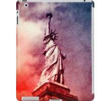 Patriotic Statue of Liberty iPad Case/Skin