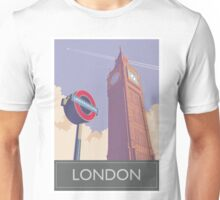 Big Ben Clock Tower, London Unisex T-Shirt