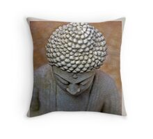 Meditating Buddha Throw Pillow