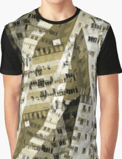 Abstract city buildings Graphic T-Shirt