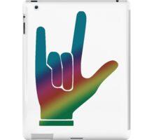 ASL American Sign Language I love you  iPad Case/Skin