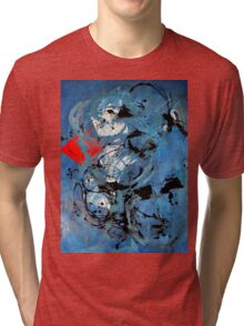 Electric, 2012, 50-70cm, oil on paper Tri-blend T-Shirt