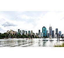 Brisbane City Skyline by Gaye G Photographic Print