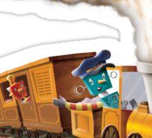 Trainbots Sticker
