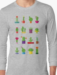 Funny Cactus  Long Sleeve T-Shirt