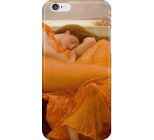 Flaming June, Frederic Leighton  iPhone Case/Skin